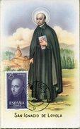 21794 Spain, Maximum 1955  San Ignacio De Loyola,  Jesuit, Jesuiten
