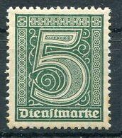 D. Reich Dienst Michel-Nr. 23 Postfrisch