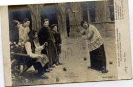 Partie De Croquet - Tableau Salon De 1912  Par CHOCARNE-MOREAU - Jeux Et Jouets