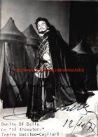 Benito Di Bella Opera - Autogramme