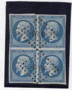 N°14A En Bloc De 4, Avec Petite Variété, Pc 3693