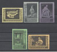 RUSSIE . YT 3190/3194 Neuf ** Tableaux Et Oeuvres Du Musée De L'Ermitage à Leningrad 1966