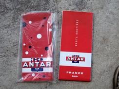 Rare Carte Au 1000.000eme FRANCE NORD SUD ANTAR 1962 + Livre Des Points De Vente - Cartes Routières