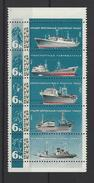 RUSSIE . YT 3203/3207 Neuf ** Chalutiers Et Produits De La Pêche  1967