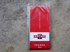 Rare Carte Au 1000.000 Eme FRANCE NORD SUD ANTAR 1962 + Livre Des Points De Vente - Cartes Routières