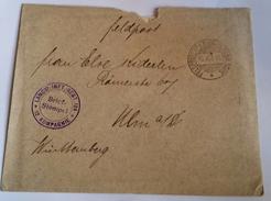 410 FRANCHIGIA MILITARE - FELDPOSTBRIEF WWI  10/5/16