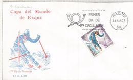 ESPAÑA SPD COPA DEL MUNDO DE SKI ESQUI DEPORTE