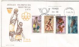 ESPAÑA SPD JUEGOS OLIMPICOS DE MONTREAL 1976 BALONCESTO REMO LUCHA BOXEO BOXING RAW BASKET FIGHT