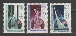 URSS  1965  Xx Uni 3939-41    -    Postfrisch   -   Vedi Foto !