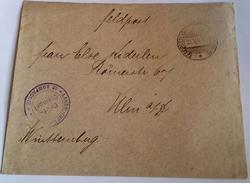 413 FRANCHIGIA MILITARE - FELDPOSTBRIEF WWI  23/5/16