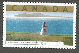 Sc. #1990d Tourist Attraction, Magdalen Islands, P.Q. HV Single 2003 K2846