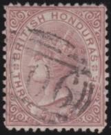 British  Honduras     .      SG     .     7       .     O       .     Gebruikt   .    /    .   Cancelled - Brits-Honduras (...-1970)