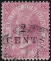 British  Honduras     .      SG     .     25         .     O       .     Gebruikt   .    /    .   Cancelled - Brits-Honduras (...-1970)