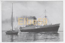 Société Générale Des Transports Maritimes, Paquebot Djebel Dira, Neuve - Dampfer