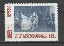 URSS  1965  Xx Uni 2975    -    Postfrisch   -   Vedi Foto !
