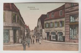 CPA HOMBURG (Allemagne-Sarre) - Bahnofstrasse - Autres