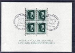 DR Bl 7 Mit 2 SST  MÜNCHEN   Geburtstag Des Führers 20. April 1937