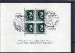 DR Bl 11 Mit 2 SST  NÜRNBERG   Reichsparteitag Der NSDAP 12.9.37