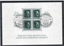DR Bl 11 Mit 2 SST  NÜRNBERG   Reichsparteitag Der NSDAP 6.9.37