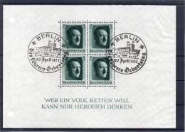 DR Bl 7 Mit 2 SST  BERLIN Des Führers Geburtstag