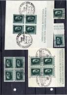DR Blockausschnitte/Marken Aus Bl 7 Oder 8; Sauber Gestempelt