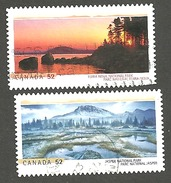 Sc. #2223 & 24 National Parks Pair Used 2007 K298