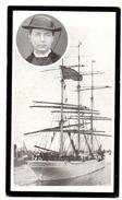 Devotie - Devotion - Doodsprentje Priester Edward Cuypers Aalmoezenier Schoolschip Comte De Smet De Naeyer Vergaan 1906 - Obituary Notices