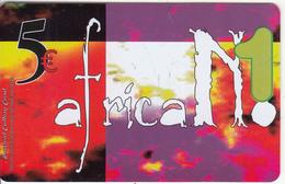 GREECE - Africa No 1 Prepaid Card 5 Euro, Sample - Greece