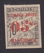 Martinique, Scott #26, Mint Hinged, French Issue Surcharged, Issued 1891 - Martinique (1886-1947)