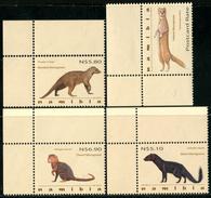 NAMIBIA 2012 Mongooses, Animals, Fauna MNH