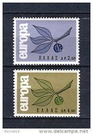 Grecia 1965. Yvert 868-69 ** MNH.