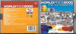"CD "" WORLD PRIDE 2000 Compilation "" 18 Brani , Virgin Music - Disco & Pop"