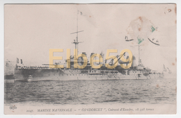 Marine Nationale, Cuirassé D'Escadre, Condorcet, écrite - Guerra