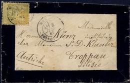 France N° 92 S/Lettre Obl MONACO Signé Calves - Cote 625 Euros - SUPERBE - 1876-1898 Sage (Type II)