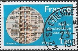 FRANCE 1981 Technology - 1f20 Micro-electronics FU - Frankreich