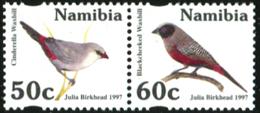 NAMIBIA 1997 Birds, Waxbill, Fauna MNH