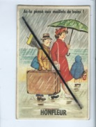 """Carte à Systéme  - """"As Tu Pensé Aux Maillots De Bains?....  Honfleur   -  Dépliant 10 Vues ) - Honfleur"""
