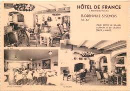 Florenville - Hôtel De France - Le Bar - Le Salon - La Salle à Manger - Florenville