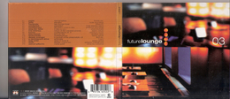 """CD """" FUTURE LOUNGE 03 """" - 15 Brani , Stereo Deluxe Rec. - Disco, Pop"""