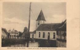 France - 67 - Geudertheim - Temple Protestant Et Château Schauenbourg - Altri Comuni