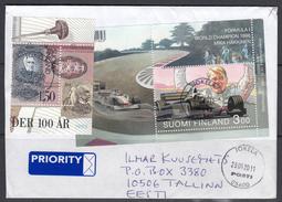 Finnland 2011. Brief Finnland- Estland.