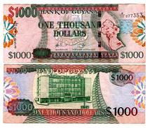 Guyana - 1000 Dollars (2011) High Grade - Guyana