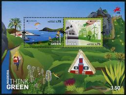 Europa 2016 - Madeira - Think Green - BF Neufs // Mnh - 2016