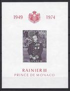 Monaco Bloc N° 8 ** 1974
