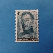 1974 BELGIO BELGIE BELGIQUE FRANCOBOLLO USATO STAMP USED - RE ALBERTO I 4 F