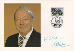 1991 Austria Österreich  SOS Kinderdörfer Karte Heinz Rühmann