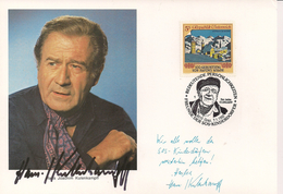 1992 Austria Österreich  SOS Kinderdörfer Karte  Hans Joachim Kulenkampf