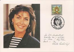 1993 Austria Österreich  SOS Kinderdörfer Karte  Thelde Carole Wied