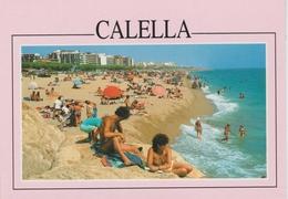 (CAL35) CALELLA . FEMME A SEINS NUS ... UNUSED - Barcelona