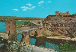 (TOL342) TOLEDO. PUENTE ALCANTARA Y CASTILLO SAN FERNANDO ... UNUSED - Toledo